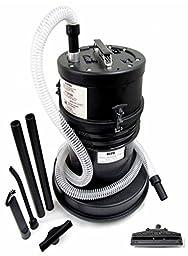 ATRIX High Capacity 5 Gallon HEPA Lead Dust Vacuum - Atrix ATIHCTV5HR with Air Driven Powerhead