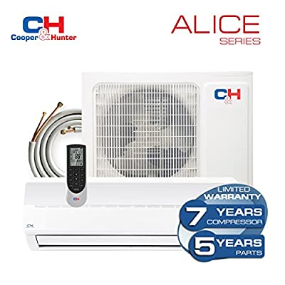 Cooper & Hunter Alice Ductless Mini Split Air Conditioner up to 16 SEER