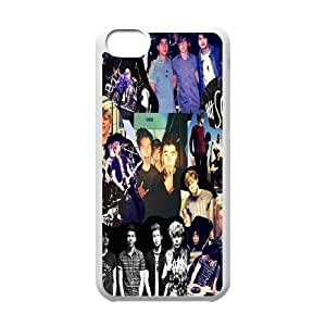 Custom High Quality WUCHAOGUI Phone case 5SOS music band Protective Case For Iphone 5c - Case-8