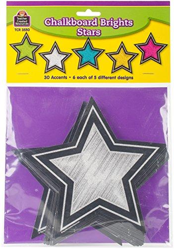 Chalkboard Brights Stars Accents