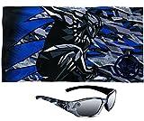 Black Panther Marvel Premium Beach Towel PLUS Kids Sunglasses