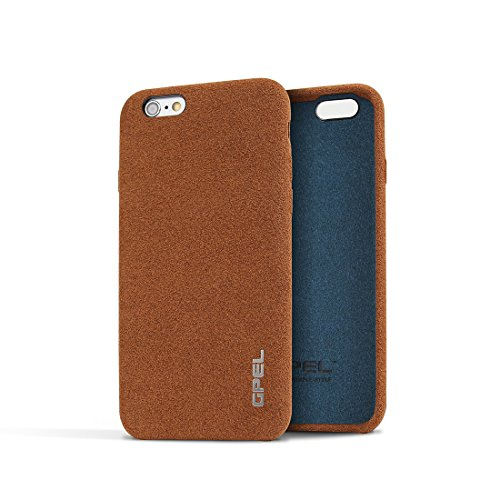 iPhone 6 | 6s Premium GPEL Handmade Leather Case Chamois with Soft...