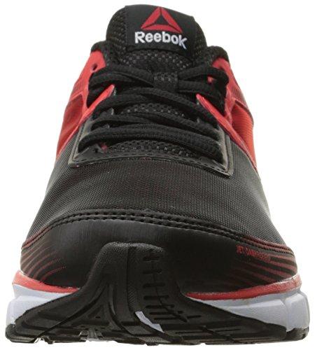 Reebok Mens Jet Dashride 2.0 Motore Scarpa Da Corsa Rosso / Bianco / Nero