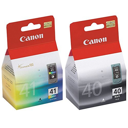 Canon PG-40 and CL-41 Ink Cartridge Set NEW