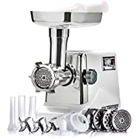 STX International Turboforce 3000 Series Size #12 Electric Meat Grinder with Optional Juicer Attachment and/Or Foot Pedal