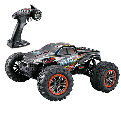 Hide on bush Electric RC Car Large Size 1:10 Scale High Speed 46km/h 4WD 2.4Ghz Remote Control Truck 9125 Rechargeable Toy for Kids Adults (Multicolor)