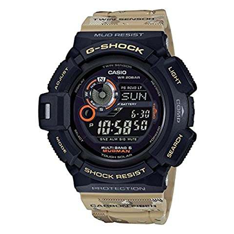 G-Shock Master of G 9300 Desert Camo Series - Beige / One Size (Gshock Watches Master Of G)