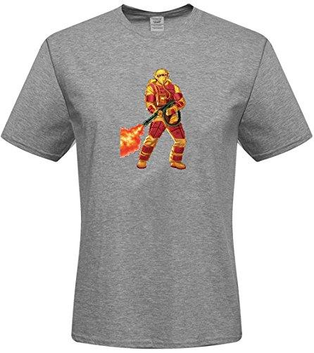 Joe American Hero T-shirt - Steve KVKu Men's T-shirts - DIY American Hero G.I.JOE T-shirts,(White X-Large)