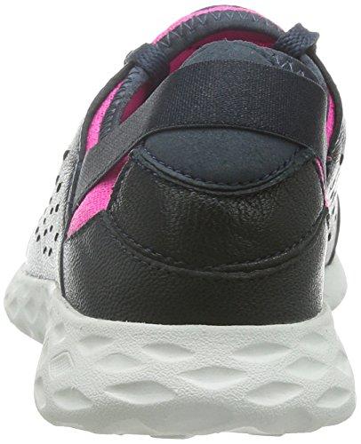 Clarks Womens Sport Clarks Seremene Lace Leather Shoes In Navy Blue YXqSxOY