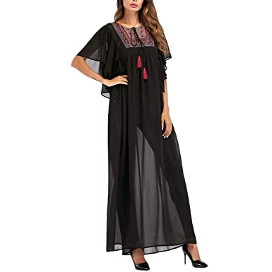 Zhuhaitf Malaysia Kaftan Cocktail Evening Gown Chiffon Full Length Abaya Dress