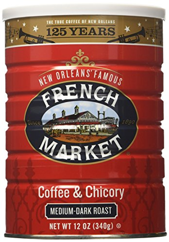 French Market Coffee Medium dark 12 ounce