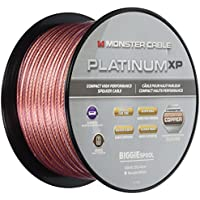 Monster Cable MC PLAT XPMS-100 WW Platinum XP Clear Jacket - Compact Speaker Cable MKIII - Multilingual