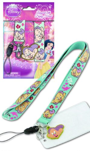 Disney Dopey Lanyard Touch Dangle