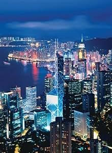 Ravensburger 16121 - Puzzle de vista panorámica de Hong Kong (1000 piezas)