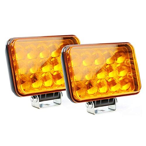 5 inch amber fog light kit - 2