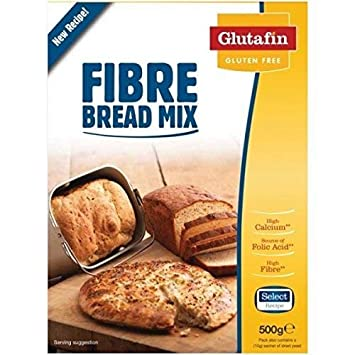 Amazon.com: Glutafin seleccione sin Gluten Fibra Pan Mix 500 ...