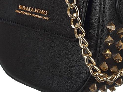 2018 New ES159 Nero Tracolla Estate Donna SCERVINO ERMANNO Borsa Anya Primavera 12400428 ZxRa6qC