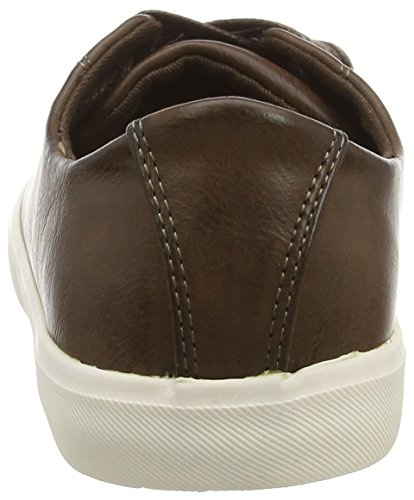New Look Dylan Luxe, Zapatillas Hombre Marrón (28/Dark Brown)