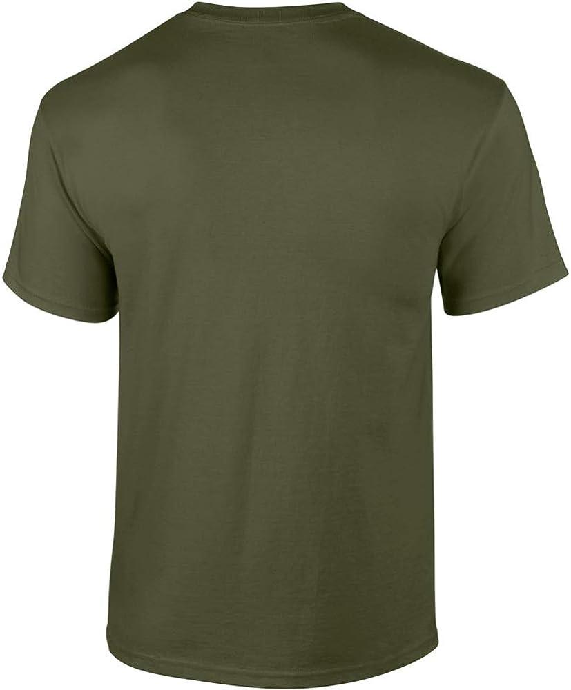 Gildan Ultra Cotton 6oz Camiseta: Amazon.es: Ropa y accesorios