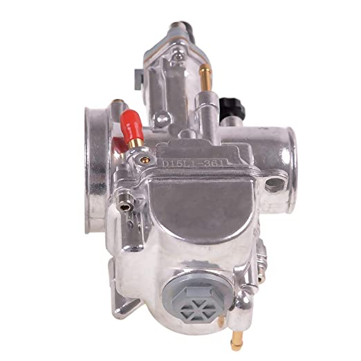 Evermotor carburateur de moto 24mm avec embouts rempla/çables pour moteurs verticaux de chariot Quad Go Kart Dirt Bike ATV CG 125CC 150CC 200CC 250ccm 250ccm