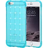iPhone 6s Case, iPhone 6 Case, Pasonomi® Slim Transparent Clear Bumper Case with Soft Flexible TPU Material for iPhone 6/iPhone 6S (4.7 inch) (Blue)