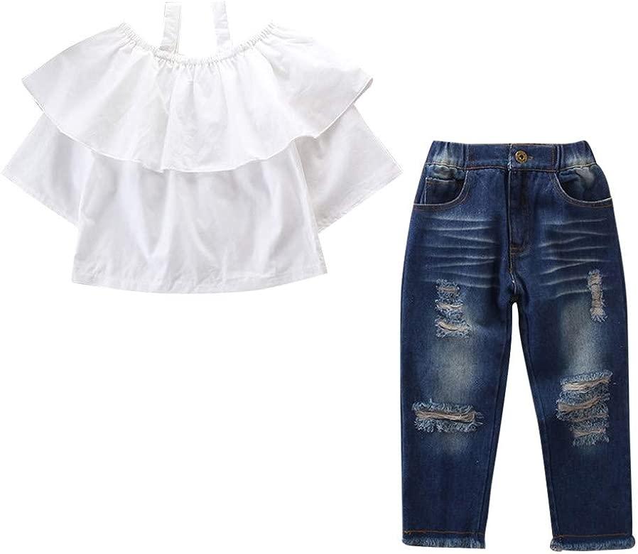 Tirantes de Pantalones Corta Verano 2018 Impresion de Rayas Volantes Bolsillo Peleles para beb/é ni/ñas de 12 Meses 18 Meses 24 Meses 3 a/ños PAOLIAN Conjuntos para beb/é ni/ñas Camisetas