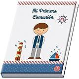 ÁLBUM DE COMUNIÓN NIÑO - Comprar Álbumes de Fotos para Comuniones Baratos