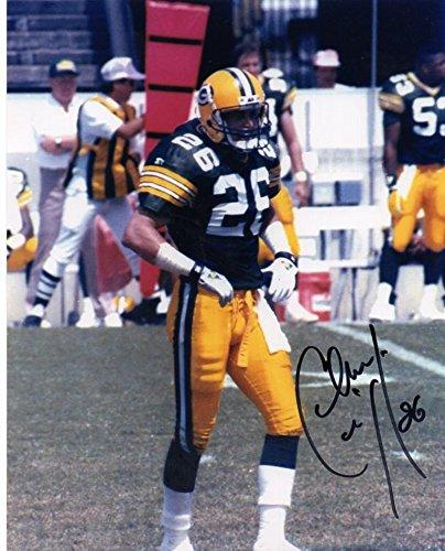 Chuck Cecil Autographed Photo - #26 8x10 W coa - Autographed NFL Photos by Sports Memorabilia