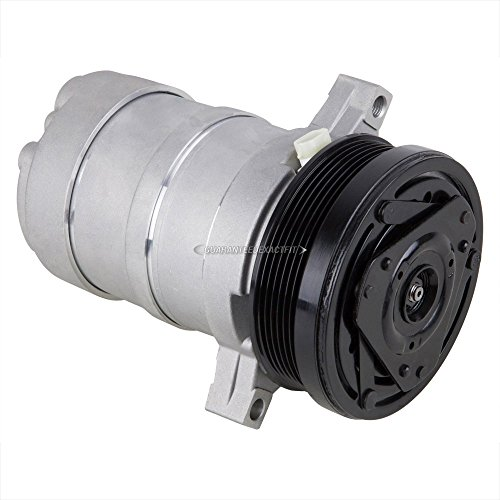 (AC Compressor A/C Clutch For Chevy Camaro Impala Caprice Pontiac Firebird - BuyAutoParts 60-00901NA New )
