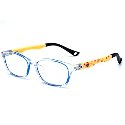a81417180d35 Buy Fantia Tr90 Optical Frame Glasses Cute Kids Eyeglasses 42-11-118-32 (H)  Online at Low Prices in India - Amazon.in