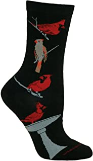product image for Wheel House Designs Cardinals Womens Argyle Socks (Shoe size 6-8.5)