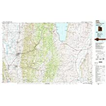 Logan UT topo map, 1:100000 scale, 30 X 60 Minute, Historical, 1984, updated 1985, 24.1 x 40 IN
