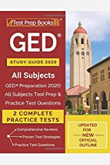 GED Study Guide 2020 All Subjects: GED Preparation 2020 All Subjects Test Prep & Practice Test Questions [Updated for NEW Official Outline] Paperback