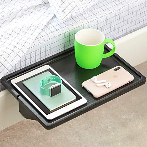 BedShelfie Minimalist The Original Bedside Shelf - 9 Colors / 3 Sizes - AS SEEN ON Business Insider (Minimalist Style, Black)