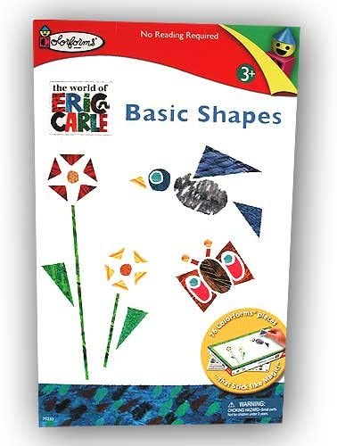 Colorforms Eric Carle Basic Shapes Playset