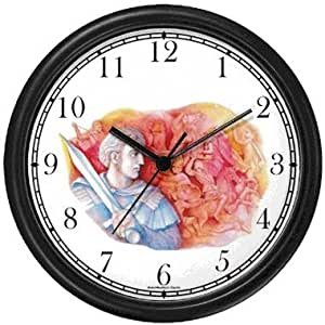 Alexander The Great Wall Clock By Watchbuddy