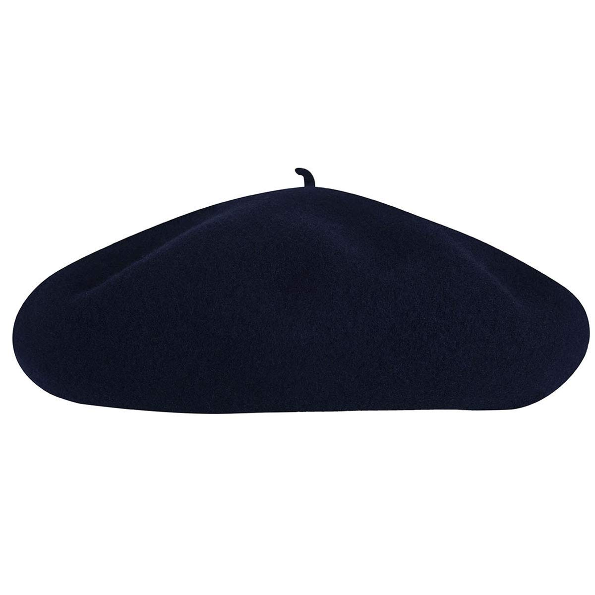 Kangol Men's Anglobasque Beret, From the Heritage Collection, Dark Blue (Large) by Kangol (Image #4)