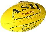 Laema New High Abrasion Australian Rules Football Afl Ball Yellow Size 5