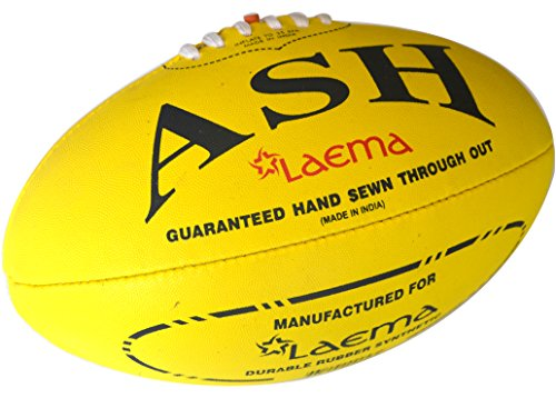 laema-new-high-abrasion-australian-rules-football-afl-ball-yellow-size-5