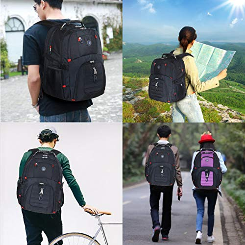 Holds 12.5-inch Laptop Metal Elephant 12.5x9x17.5 Student Backpacks College School Book Bag Travel Hiking Camping Daypack for boy for Girl