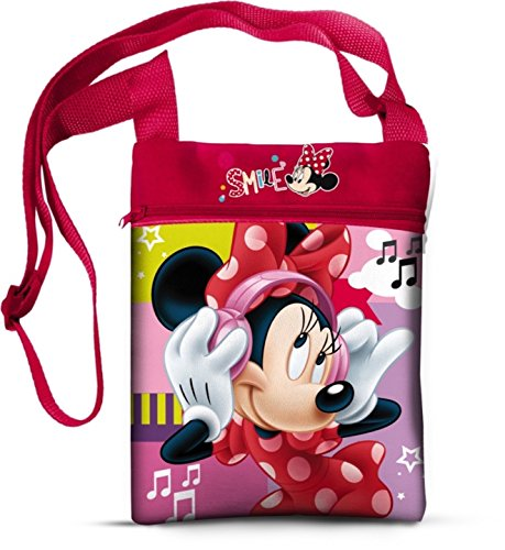 Disney 41840 Star Licensing Borsa Messenger, 22 cm, Multicolore