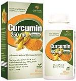 Genceutic Naturals Curcumin – 250 mg – 60 Softgels (4 Pack)
