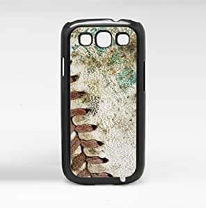 MLB Vintage Close up Baseball Hard Snap on Phone Case (Galaxy s3 III)