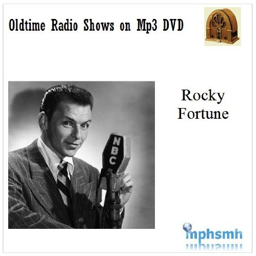 ROCKY FORTUNE Old Time Radio (OTR) series (1953-1954) Mp3 DVD 25 episodes