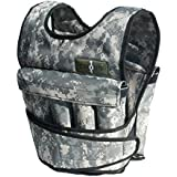 Cross 101 Adjustable Weighted Vest, 40 lbs (Camouflage)