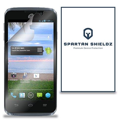6X - Spartan Shields Premium HD Screen Protector Cover For ZTE Rapido LTE - - Lte Cover Zte Rapido For Phone