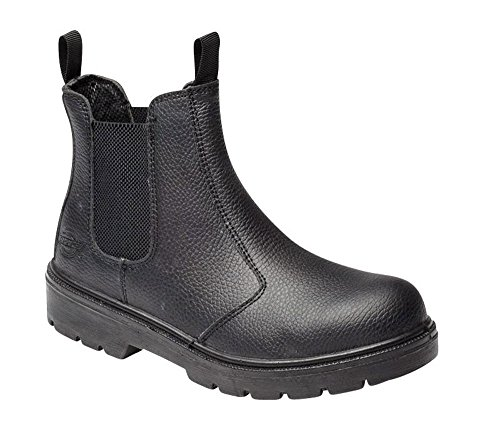 Super Dickies Boot Safety Dealer Black axqBHUwx