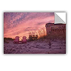 Artwall Dan Wilson's Outer Banks-pink Art Appeelz Removable Graphic Wall Art, 32 By 48-inch