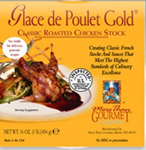 Glace de Poulet Gold (Classic Roasted Chicken Stock) - 1.5oz by More Than Gourmet