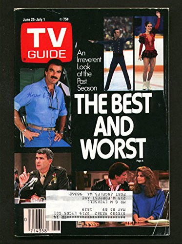tv-guide-june-25-1988-western-washington-state-tom-selleck-cheers